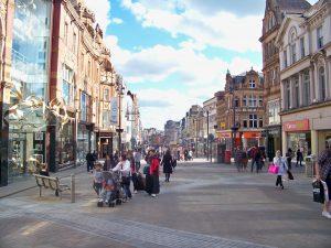 Briggate in Leeds